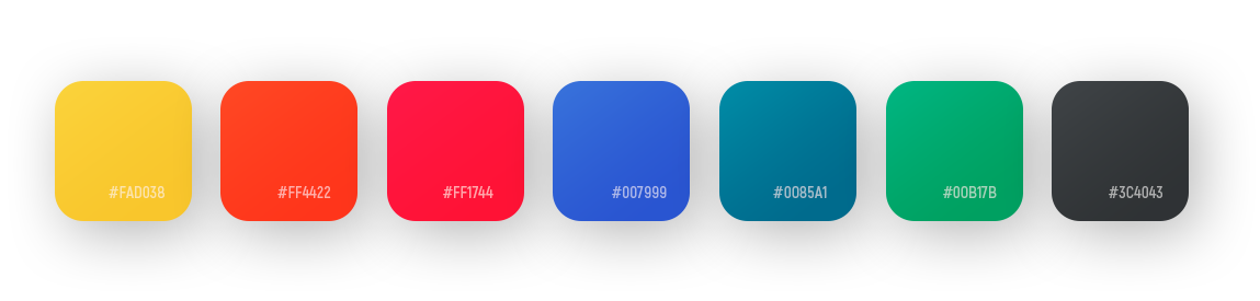 Colors for Web/Film